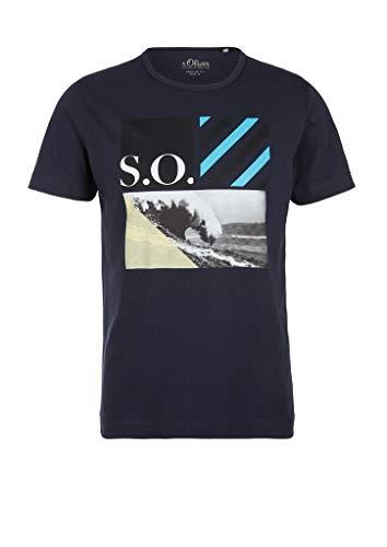 s.Oliver 130.12.005.12.130.2038390 Camiseta, Falda Lunar, XL para Hombre