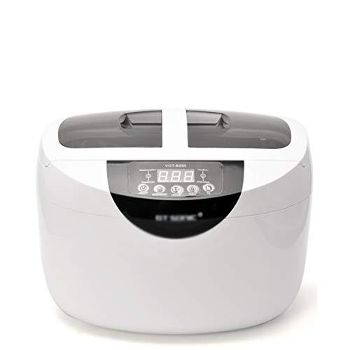NSDFG Mini laveuse Grande capacité Machine de Nettoyage à ultrasons 65W Verres de Lunettes AM Bouteille de Lavage de la tête d'encre d'imprimante de prothèse de pièces en métal de la Montre Pendentif