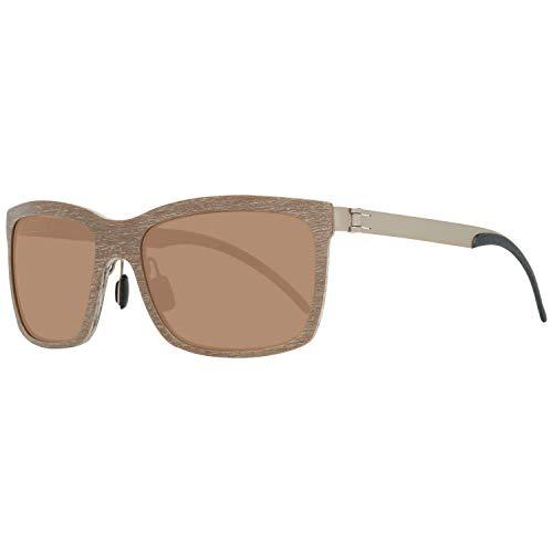 Mercedes-Benz Sonnenbrille M3019 Gafas de sol, Marrón (Braun), 58.0 para Hombre