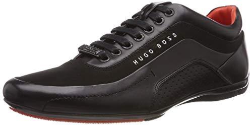 BOSS Herren HB Racing Sneaker, Schwarz (Black 1), 44 EU