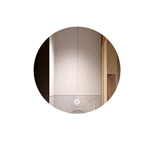 Ljus spegel fåfänga spegel smart badrumsspegel med lampa runt vägg hängande LED fåfänga spegel toalett toalett