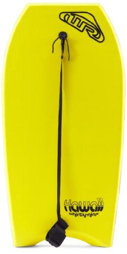 Wave Rebel EBB01739/Gelb Hawaii - Bodyboard (39'' x 20'' x 15,75'' x 11,5'' x 2''), Color Amarillo