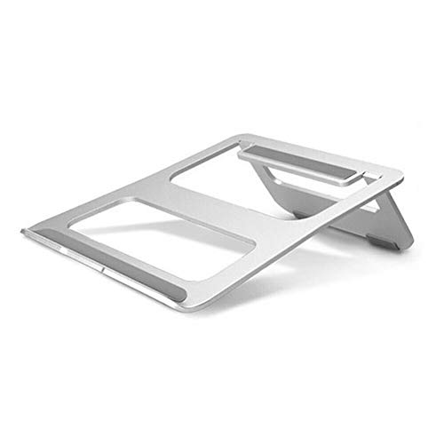 PASLWSSY Soporte refrigeración portátil ergonómico portátil, Soporte computadora portátil Plegable Aluminio computadora portátil, Soporte Ajustable Universal computadoras portátiles hasta 15.5'