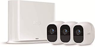 Arlo Pro2 Überwachungskamera & Alarmanlage, 1080p HD, 3er Set, Smart Home, kabellos, Innen/Außen, Nachtsicht, 130 Grad Blickwinkel, WLAN, 2-Wege Audio, wetterfest, Bewegungsmelder, (VMS4330P) - Weiß (B0777TMW1Y) | Amazon price tracker / tracking, Amazon price history charts, Amazon price watches, Amazon price drop alerts