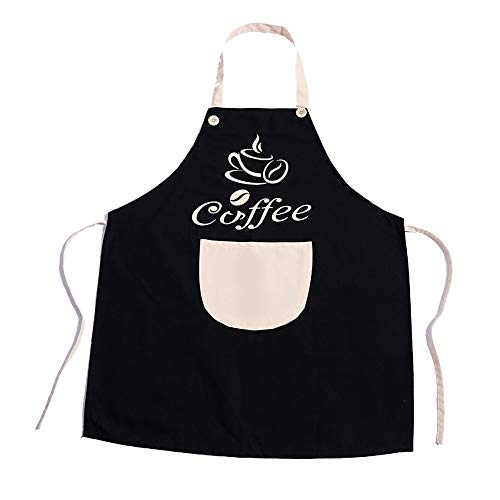 VLHVAQ DFRXK-HM Schort Keuken Volwassen Koken Schort Vest-stijl Taille Jurk Koreaanse Leuke Taille Waterdicht En Olie-proof Schort voor Home Restaurant BBQ