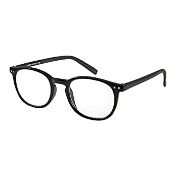 I NEED YOU Readers Junior Slimline Retro Reading Glasses +3.0 Black