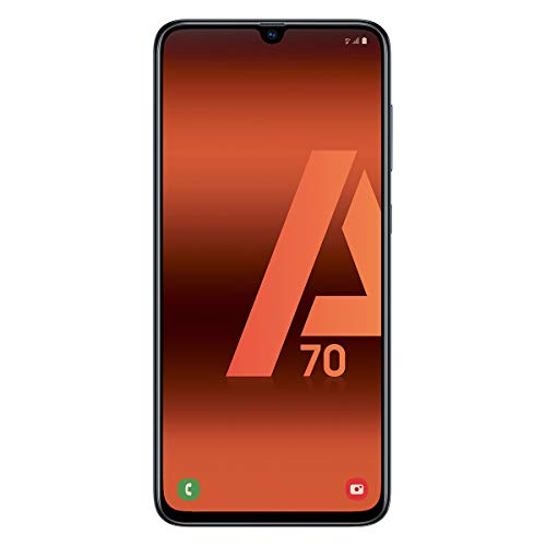 "Samsung Galaxy A70 (128gb, Dual-SIM, pantalla de 6.7 "" Full HD + Dynamic AMOLED, 4500 MaH), color negro [Versión española]"