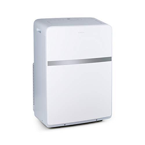 KLARSTEIN Ion Breeze - Condizionatore, 9000 BTU/h, Portata max 410 m³/h, 5 Modalità Operative, Tecnologia SilverIon, 4Velocità, Timer, Filtro a 4 Stadi, Tecnologia AirFresh, 16-32°C, Bianco