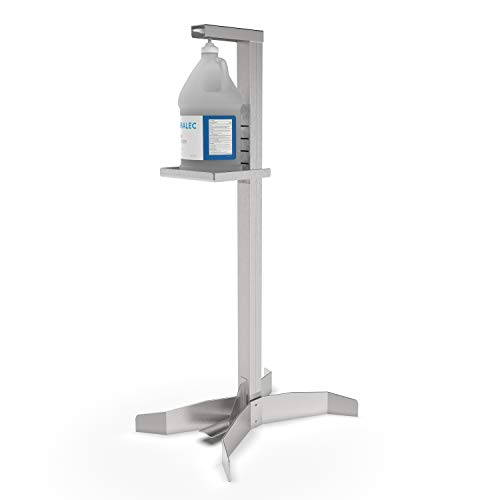 Duralec Foot Operated Hand Sanitizer Stand, Freestanding...