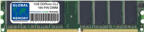 GLOBAL MEMORY 1GB DDR 333/400MHz Memoria RAM para Mac Mini G