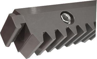 ALEKO 4NGRACK33 Nylon Gear Racks for Sliding Gate Opener Operator Set of 4 3.3 Foot Racks Total 13 Feet