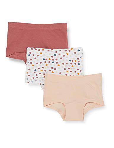 NAME IT Mädchen Nmftights 3p Peach Whip Dot Noos Baby-und Kleinkind Unterwäsche-Satz, 92 (3er Pack)