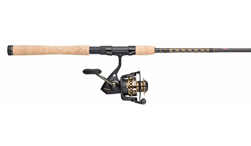 Penn BTLII4000701M Battle II 4000 Spinning Reel Combo, Inshore, 7 Feet, Medium Power