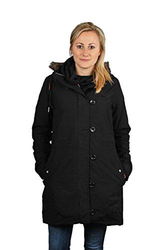 W64682|Adidas Fur Woven Parka Black|36