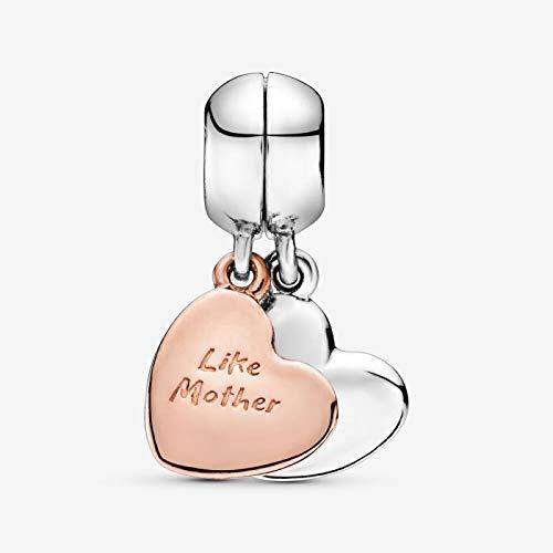 PINSHUO 925 Argent Sterling SoeurTasse Chaussure bébé LandauBricolage Fines Perles et chaîne de sécurité breloque Fit Original Bracelet à Breloques B352-R