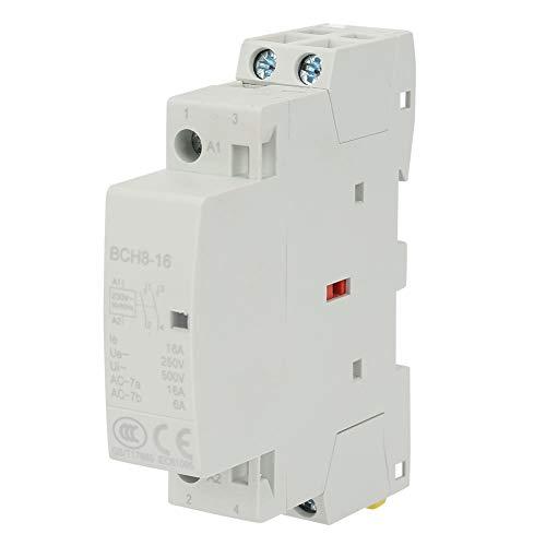 2P 16A 220V/230V 2NO Contactor de CA doméstico para carril DIN 50/60Hz...