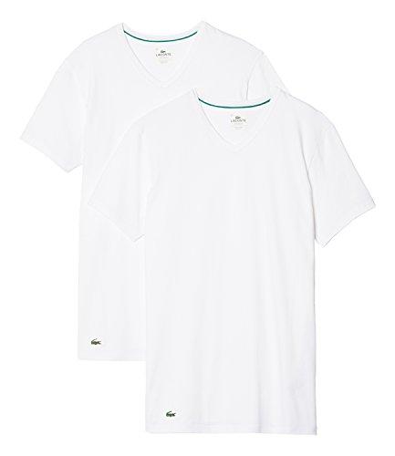 Lacoste Underwear T-shirt heren Lacoste V/N TEE (DPK), set van 2