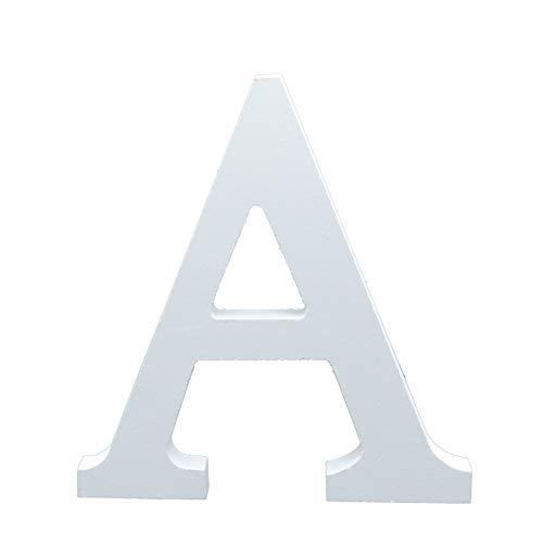 Besch Letras de Madera mayúscula Decorativa 15cm (A)