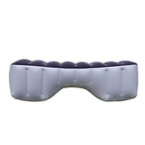 Voolok Auto-Rücksitz-Gap-Pad, Auto-Luftmatratze mit Tragetasche, Universal-Auto, für Autoreise, Camping, Outdoor-Aktivitäten, Grau