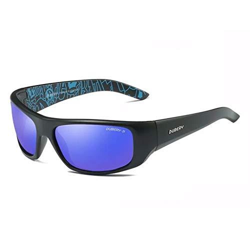 Gafas de Sol Deportivas for Hombre/Mujer, HD 100% UV400 Gafas de conducción a Prueba de Viento/a Prueba de Polvo/a Prueba de Lluvia/Unisex D1418 (Color : #9)