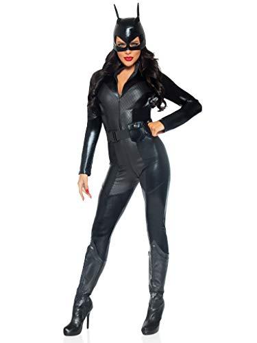 Leg Avenue- Mujer, Color negro, Medium (EUR 38-40) (85554)