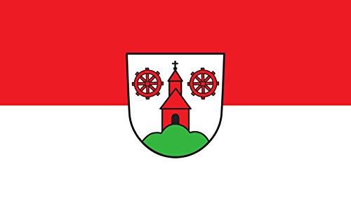 Unbekannt magFlags Tisch-Fahne/Tisch-Flagge: Winden im Elztal 15x25cm inkl. Tisch-Ständer