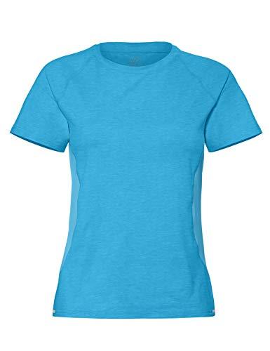 CARE OF by PUMA Camiseta de entrenamiento de manga corta para mujer, Azul (Bonnie Blue), 40, Label: M