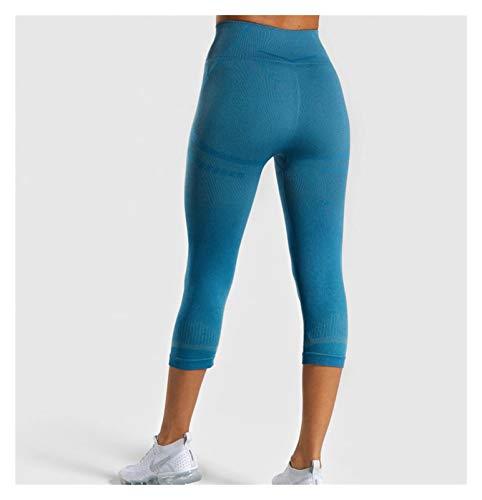 HRY Conjuntos de Entrenamiento para Mujeres de 3 Piezas, Pantalones de Sujetador de Chaleco, Ropa de Yoga Pantalones de Jogging Leggings elásticos de Cintura Alta para Regalo.