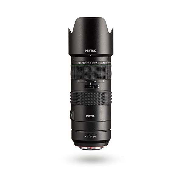 RetinaPix HD PENTAX-D FA 70-210mmF4ED SDM WR: Telephoto Zoom Lens for DSLR Cameras High-Performance While maintaing Constant f/4 Aperture Weather-Resistant Construction Minimum Focusing Distance of 0.95 Meters