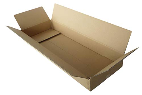 ボックスバンク ダンボール(段ボール箱)160サイズ (105×40×13cm) 5枚セット 2つ折り配送 ギター 引越し FU02-0005