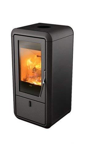 MCZ KASAI raumluftunabhängig Kaminofen 9 kW Holzofen Ofen Kamin Holzkaminofen Farbe Kasai-9-schwarz