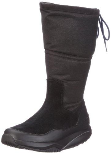 MBT Damen Sayari High w Coffee Stiefel, Schwarz/Black, 39 EU