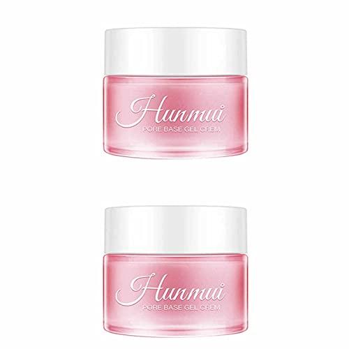 Juyuntong 2PCS 2021 Nueva Base mágica de perfeccionamiento Facial Debajo de la Base, Arrugas antienvejecimiento/Encoge los poros/Elimina Las líneas Finas/Exfoliante/antioxidante/reafirmante