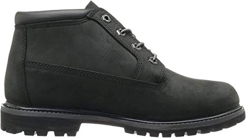 Timberland Women's Nellie Double Waterproof Ankle Boot,Black,7.5 W US