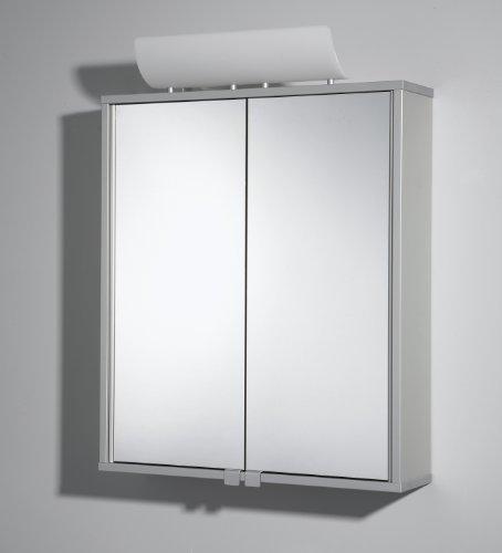 Spiegelschrank Alusmart Aluminiumspiegelschrank mit Beleuchtung Badspiegel von Jokey
