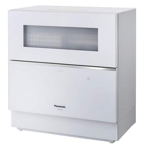 パナソニック「ナノイーX」搭載の卓上型食器洗い乾燥機(ホワイト)NP-TZ100-W