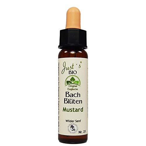 Mustard Nr. 21 Just´s Original englische BIO Bachblüten Ackersenf Blütentherapie für Mensch und Tier …