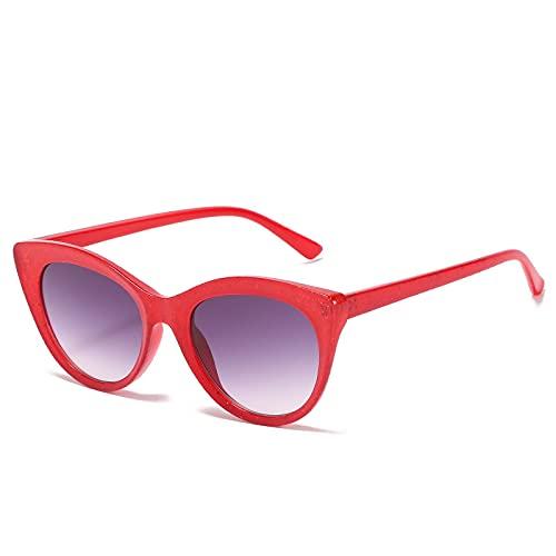 Gafas De Sol Para Mujeres Tamaño medio C2 caja roja gris gradiente