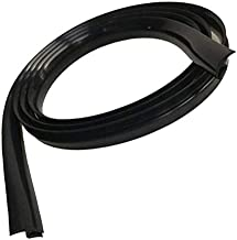 LdSJj El envejecimiento de Sellado de Caucho Tiras de Paneles Parabrisas Delantero Bajo/Ajuste for BMW E30 E36 E34 E46 E90 E60 E39 E87 F30 F10 F20 E92 E91 Accesorios (Color : 1.7m Black)