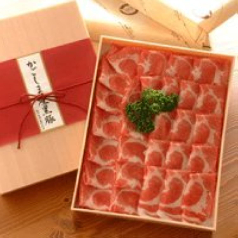 しゃぶしゃぶ用鹿児島産黒豚肉 (肩ロース 1Kg)