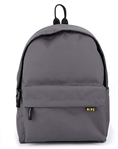 QIPS by HMI 21L | 16 Inch Classic Backpack with YKK Zippers,...