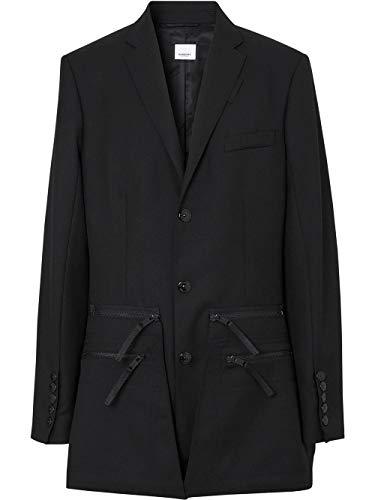 BURBERRY Luxury Fashion Herren 4563493 Schwarz Wolle Blazer | Frühling Sommer 20