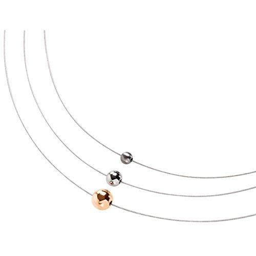 Boccia Damen Halskette Titan cm 0872-01