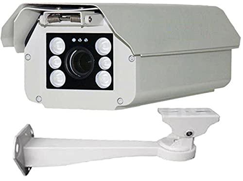 Urban Security Group IP PoE 2MP 1080P 30FPS : License Plate Recognition LPR Capture Bullet Security Camera : 5-50mm Vari-Focal HD Lens : 4X Infrared LEDs, ONVIF, Business Grade