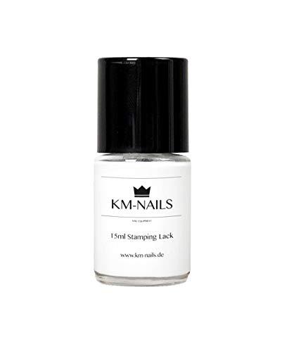 KM-Nails Stamping Lack weiß 15ml