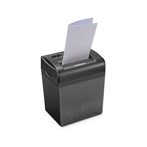 MYXMY PDesktop Desktop-Mini-Aktenvernichter, Klein Multifunktionale Büro und zu Hause Elektrische Silent-Low Noise Paper Shredder, 4,5 Liter Zerrissenes Papier Eimer
