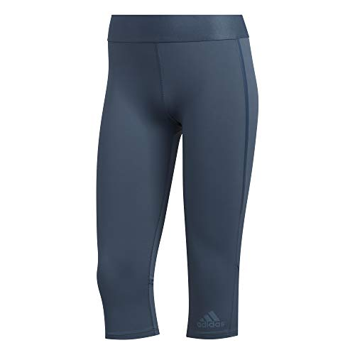 adidas Ask Tech Cap T Mallas 3/4, Mujer, azuleg, XL
