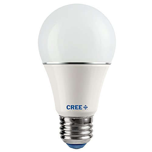 Cree SA19-04627MDFD-12DE26-1-14 Led 40W Replacement A19 Soft White (2700K) Dimmable Light Bulb (4-Pack),