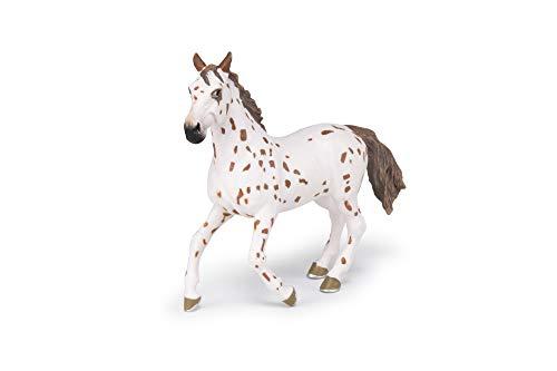 Papo 51509 Appaloosa Stute braun Pferde, FOHLEN UND PONYS Figur, Mehrfarben