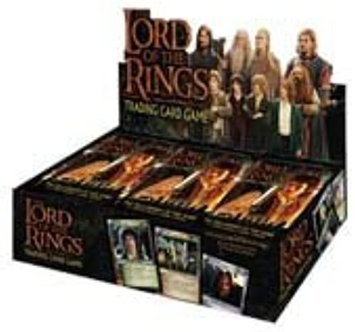 Lord of the Rings Trading Card Game  Fellowship of the Ring Booster Box by Webkinz